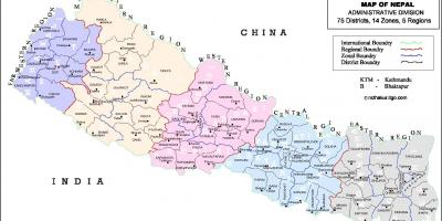 Nepal alle district anzeigen